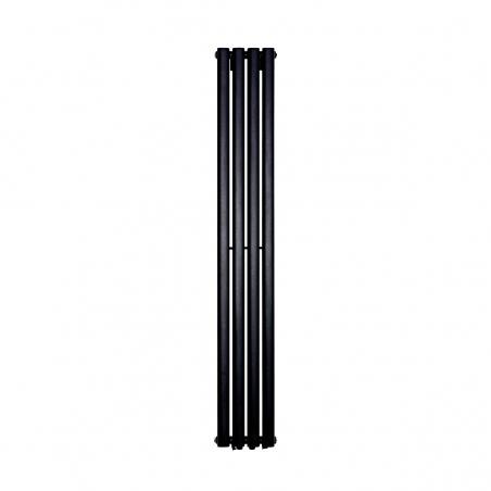 Grzejnik dekoracyjny Ultimate pojedynczy 160x24cm czarny matowy