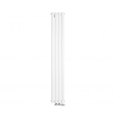 Grzejnik dekoracyjny Ultimate podwójny, rozmiar 160x24 w kolorze białym.