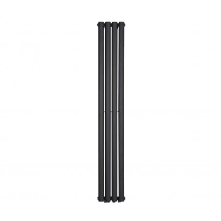 Grzejnik dekoracyjny Ultimate podwójny w rozmiarze 160x240, kolor grafit strukturalny.