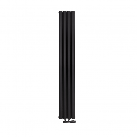 Grzejnik dekoracyjny Ultimate podwójny 160x24 kolor czarny mat
