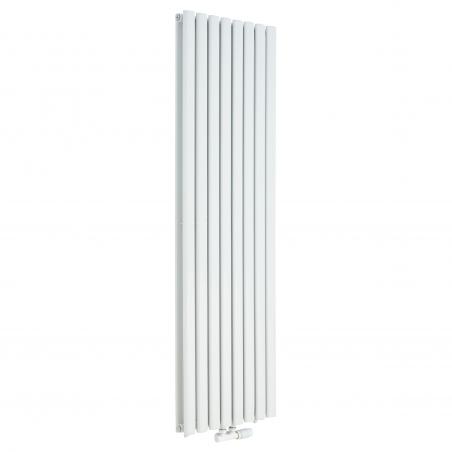 Grzejnik dekoracyjny pionowy Ultimate 2 , 160x48 w kolorze białym.