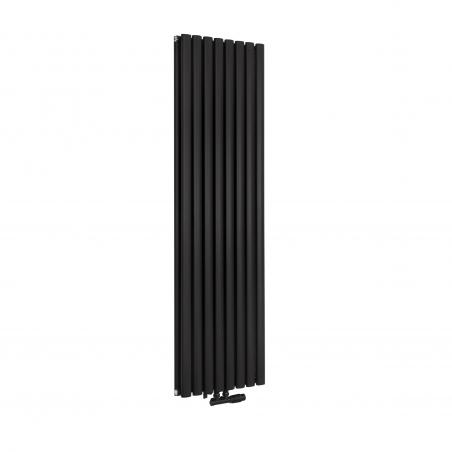 Grzejnik dekoracyjny pionowy Ultimate 2 , w rozmiarze 160x48 kolor czarny matowy.
