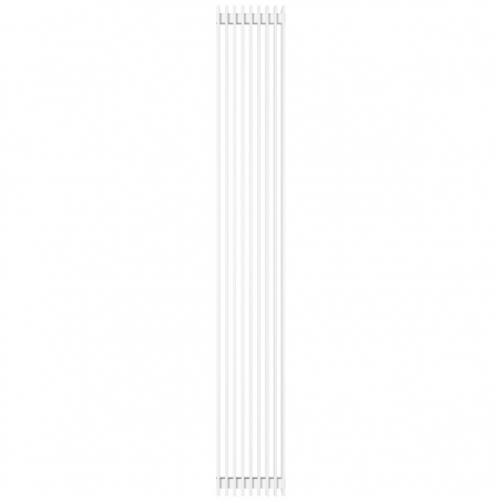 Grzejnik dekoracyjny Samum podwójny 180x25 biały.