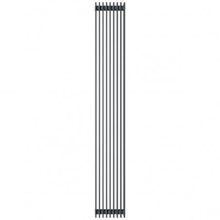 Grzejnik dekoracyjny Samum podwójny 180x25 grafitowy.