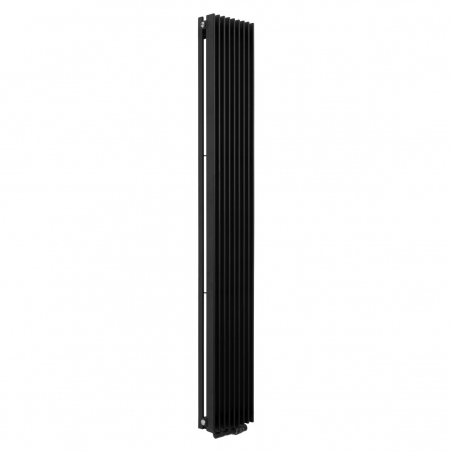 Grzejnik dekoracyjny Samum pojedynczy 180x25, czarny.