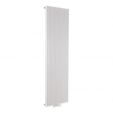 Grzejnik dekoracyjny pionowy Highiner pojedynczy, 180x54 biały.