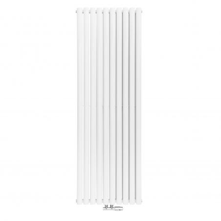 Grzejnik dekoracyjny Ultimate podwójny, w rozmiarze 180x60 kolor biały.