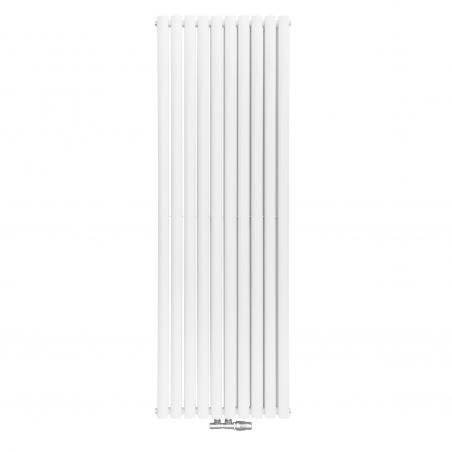 Grzejnik dekoracyjny Ultimate 2, rozmiar 180x60 w kolorze białym.