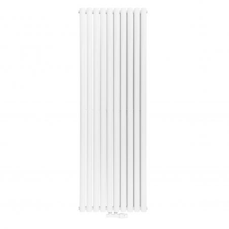 Grzejnik dekoracyjny pionowy podwójny Ultimate, w rozmiarze 180x60 kolor biały.